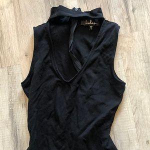 Choker bodysuit